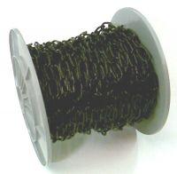 3mm Black Coated Chain - 30m reel